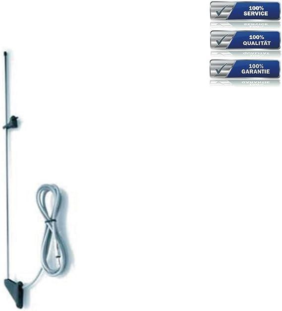 Holmenkol Antena para Mitsubishi Pajero y Nissan Patrol DIN Conector * Negro *