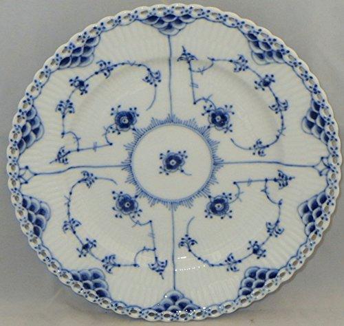 Royal Copenhagen Blue Fluted-Full Lace Salad Plate