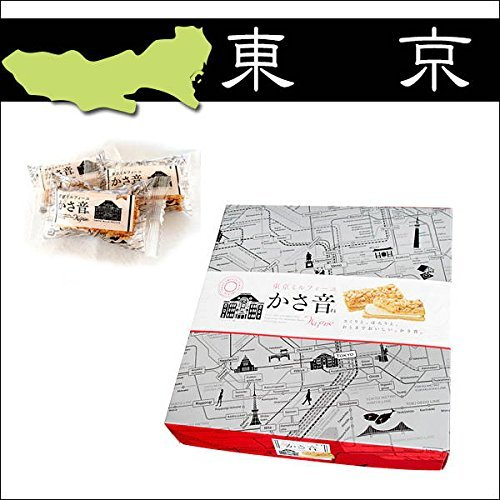 Tokyo Souvenir Gift in Japan [Omiyage]''Tokyo Millefeuille Kasaoto'' 4packs by Souvenir Gift in Japan [Omiyage] (Image #1)