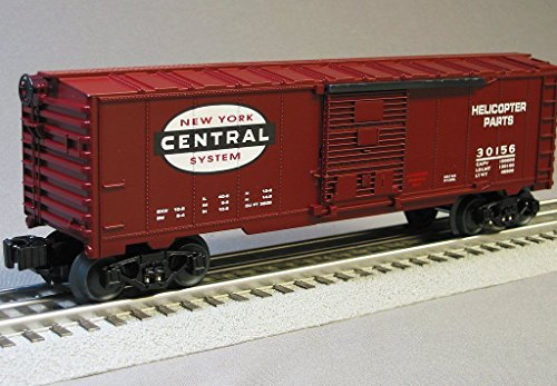 O Gauge Rolling Stock (LIONEL NYC FLYER HELICOPTER PARTS BOXCAR)