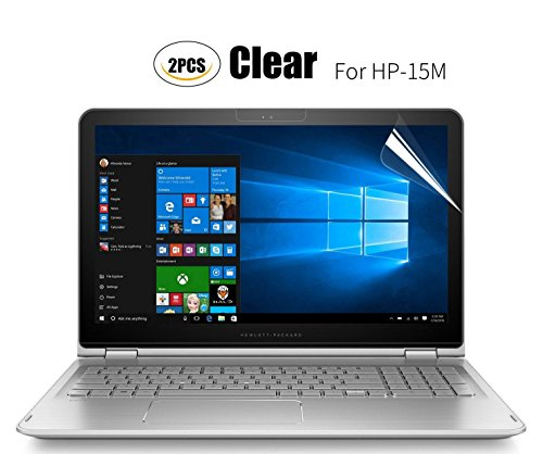 (2PCS PACK)Anti Scratch Clear Screen Protector Film for HP ENVY X360 15M 15.6