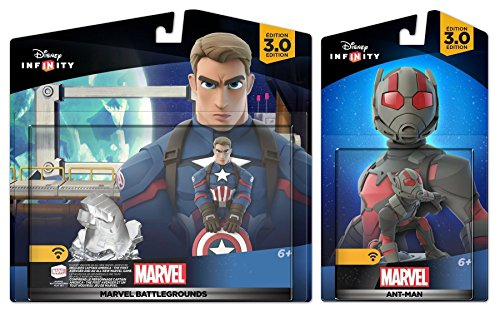 Ant Man Costume Disney (Disney Infinity Marvel Battlegrounds: Captain America + Ant-Man - Civil War NEW)