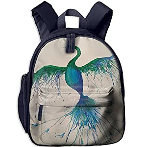 Funny Sunshine Peacock Cute Children's Shoulder Bag Children Book Bags
