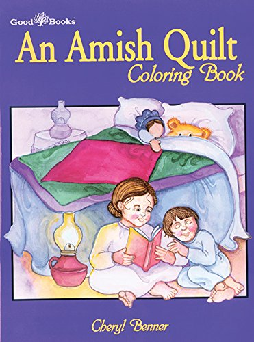An Amish Quilt Coloring Book: Cheryl Benner: 9781561481415: Amazon ...
