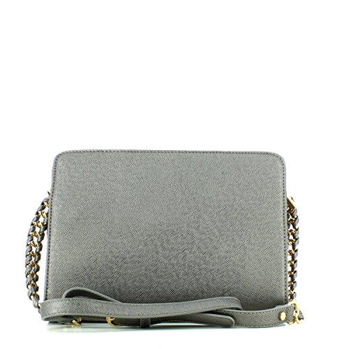 LIU JO ANNA BOSTON BAG A66005E0087 Gun Metal