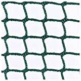 Football Net,Dark Green Multi-functional Sports Ball Fence For Sports Clubs,Schools Or Gardens,Stairs Balcony Fence Anti-Fall Protective For Kids Pet Plant Decoration Goal Backstop Netting Barrier Net