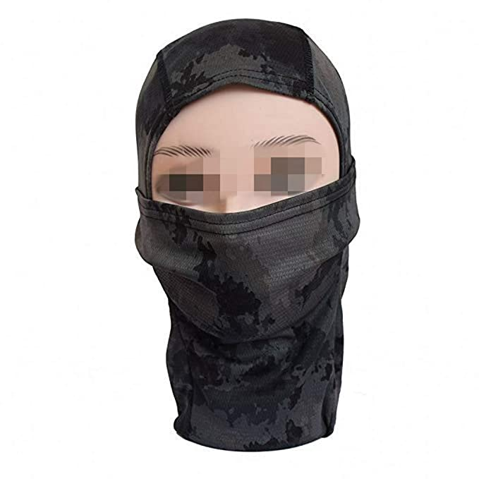 Amazon.com: Camuflaje pasamontañas para hombre máscara de ...