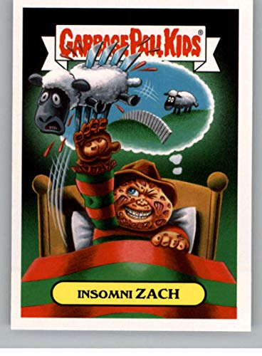2018 Topps Garbage Pail Kids Oh The Horror-ible 80s Horror Sticker A NonSport #5A INSOMNI ZACH ()