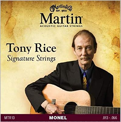 Martin 41MTR13 Tony Rice Signature Monel Acoustic Guitar Strings