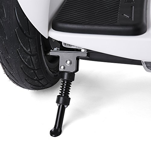 Lixada Aluminum Alloy Electric Scooter Kickstand for Xiaomi Ninebot 9 Balance Car Parking Stand Bracket with Screws - Kickstand Bracket