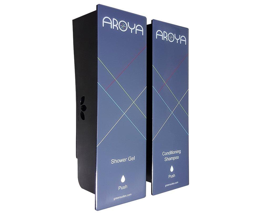 Amazon.com: Silver Aroya Duo Soap & Conditioning Shampoo Dispenser: Home & Kitchen