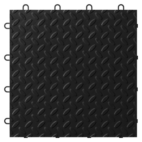Gladiator GAFT24TTTB Black Floor Tile, 24-Pack by Gladiator