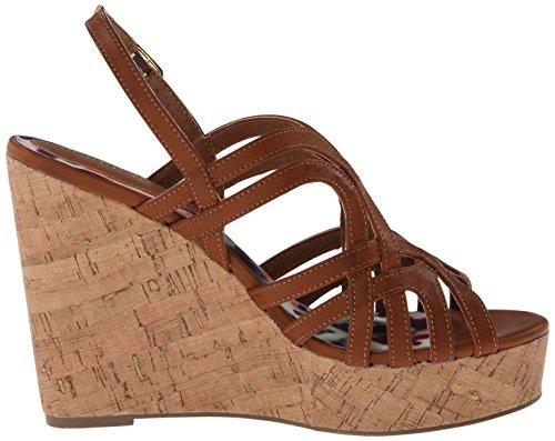 887865300243 - Madden Girl Women's Eliite Wedge Sandal, Cognac Paris, 10 M US carousel main 6