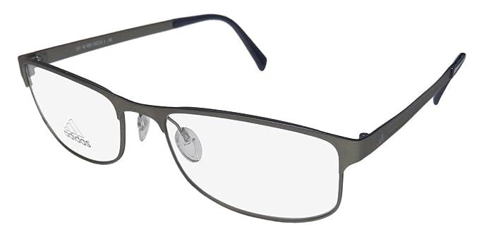 Adidas Eyeglasses AF17 40 6051 Gunmetal/Dark Blue Full Rim Optical ...