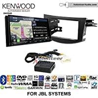 Volunteer Audio Kenwood Excelon DNX994S Double Din Radio Install Kit with GPS Navigation Apple CarPlay Android Auto Fits 2006-2012 Toyota RAV4 with Amplified System
