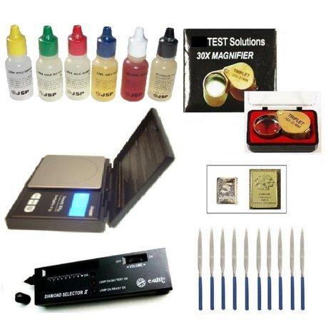Gold Acid Testing Kit Electronic Diamond Tester DWT Oz Digital Test 14k Silver by DigiWeigh