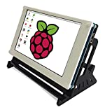 Eleduino Raspberry Pi 7 Inch 800x480 Pixel Hdmi Input Capacitive Touch Screen Display with Bracket