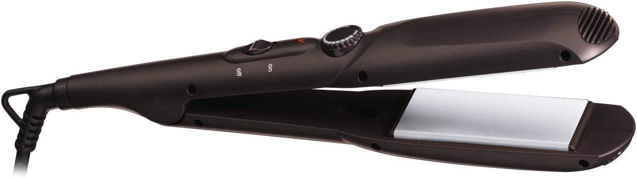 Braun Satin Hair 3 ST 310 Plancha de Pelo, Negro, Placa Flotante, Punta de Tacto Frío,Tiempo de Calentamiento 60 sec