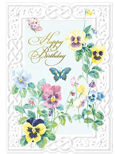4 Sake (Carol Wilson Fine Arts Inc. - 24 Birthday Card Assortment - 4 Designs - (by For Arts Sake) -)