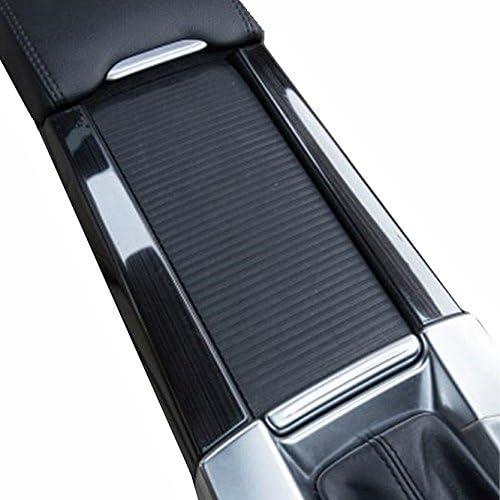 高級感UP VOLVO ボルボ V60 S60 XC60 センター コンソール デコフレーム 左右 セット 高品質のステンレス鋼 (チタンブラック)