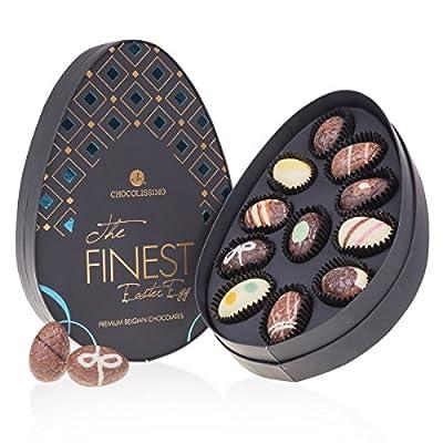 Mini The Finest Easter Egg Blue – 11 Schoko-Ostereier | in eleganter Verpackung | Ostergeschenk | Ostern Schokolade…