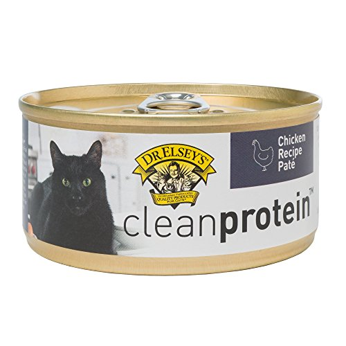 Dr. Elsey's 03255 Clean Protein Grain Free Chicken Formula Canned Cat Food, 5.5 oz