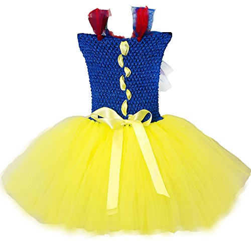 Girls Snow White TuTu Dress Hand-made Cute Infant Dress(0-4years)