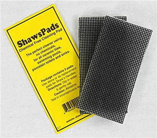 Toilet Ring Remover - Environmentally Friendly Cleaner Pads For Use on Porcelain Toilets, Ceramic Tiles, Sinks And More