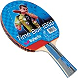 Butterfly Timo Boll Table Tennis Racket  - 1 Ping Pong Paddle - ITTF Approved - Sponge and Pan Asia Rubber