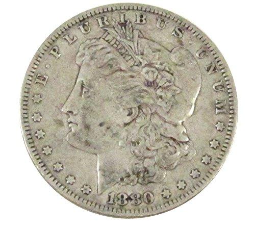 1880 Morgan Silver Dollar $1 Very ()