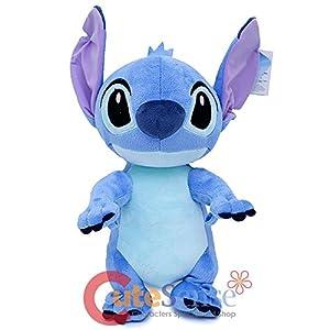 Disney Lilo And Stitch Jumbo 17″ Plush/Crossbody Bag- Blue