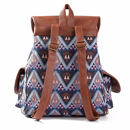 Koly Zaino Shopping Stampa Di Vento Bag Nazionale Dello le C Donne Drawstring Del r8vCrq