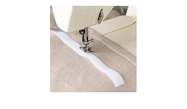 Ikea kardborre cinta de Velcro para coser en color blanco: Amazon ...