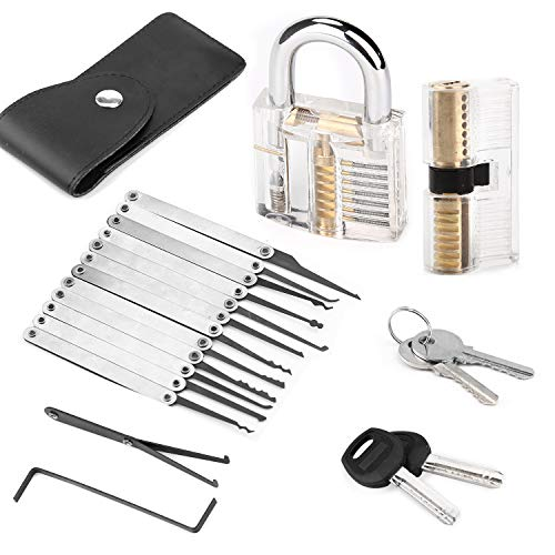 WKONN Lock Set 15 PCS (2 Lock Included)