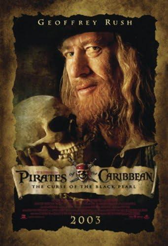 Piratas del Caribe Póster Geoffrey Rush - Póster de formato Grande ...