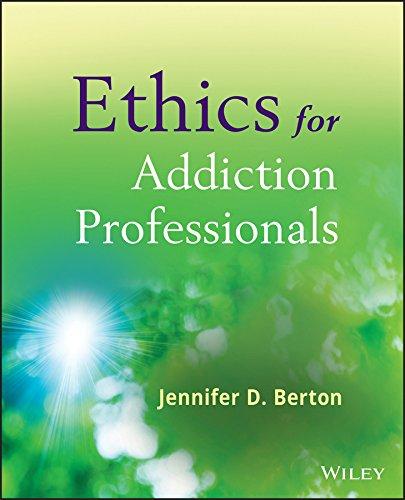 Ethics for Addiction Professionals Pdf