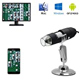 New Landing 3in1 1080p 1000X USB Microscope for Android and Computer CMOS Borescope