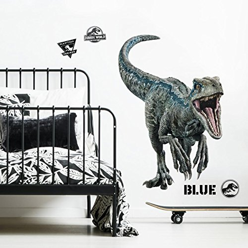RoomMates Jurassic World: Fallen Kingdom Velociraptor Giant Peel and Stick Wall Decals by RoomMates (Image #2)