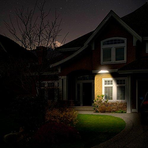 Convenient Solar Radar Motion Sensor Lights 48 LEDs Waterproof Indoor Outdoo