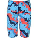 Maru Kids Boys Pacer Swimming Jammers Junior Trunks Shorts Stretch Print