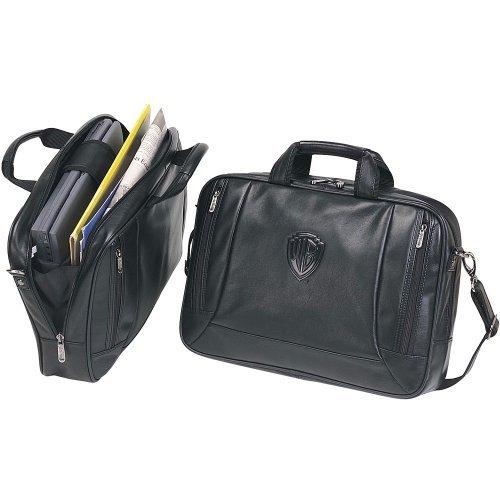 - The Editor Soft Leather Briefcase / Compucase (Bellino)