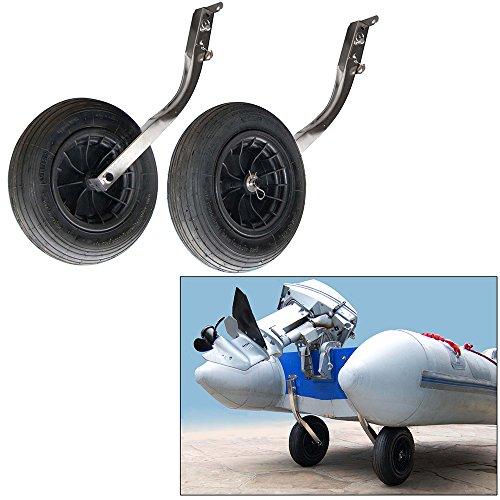 Davis Instruments Wheel-A-Weigh Extra Duty Launching Wheels with mounting - Boat Wheels Inflatable