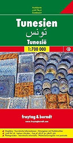 Tunisia Fb 1:700 000 (English and German Edition)