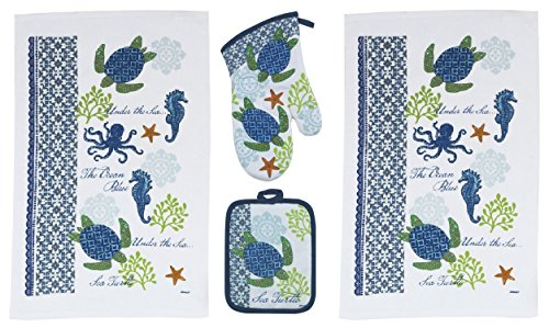 Piece Sea Turtle Kitchen Set