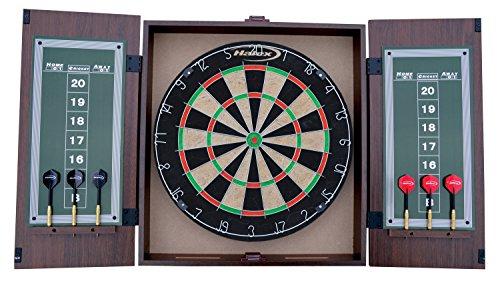 Halex Nottingham Bristle Dartboard with Cabinet (Regent Dartboard)