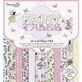 Trimcraft DCPAP127 Dovecraft Premium Fairy Tales Collection-Paper Pack 12''x12'' (FSC), 1, Multicolor