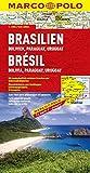 Brésil Bolivie Paraguay Uruguay