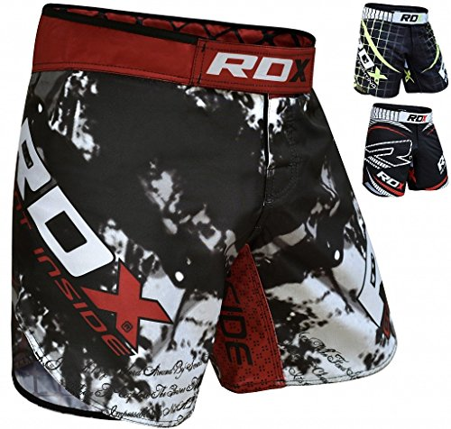 RDX MMA Shorts Training Clothing UFC Cage Fighting Grappling Martial Arts Boxing Muay Thai Kickboxing