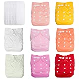 Best Baby Cloth Diapers - UBBCARE Baby Pocket Cloth Diapers Reusable Washable Adjustable Review