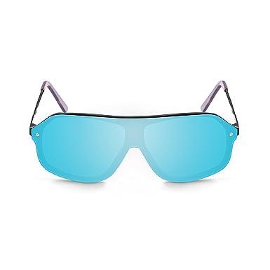Ocean Unisex-Erwachsene Sonnenbrille Eye, Blau (Blu/Havana), 64
